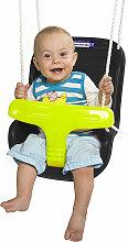 Babyschaukel Babysitz schwarz, Kleinkindschaukel,