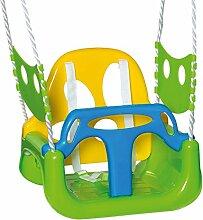 Babyschaukel verstellbar (Grün Orange Blau)