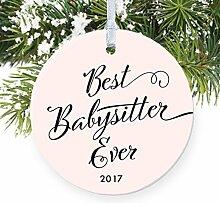 Babysitter Blush Pink Best Babysitter Ever