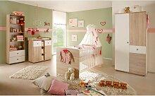 Babyzimmer in Sonoma Eiche und Weiß komplett