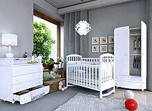 Babyzimmer Kinderzimmer komplett Set 3-tlg,