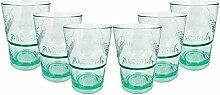 Bacardi Rum Kunststoff Glas - Gläser Set - 6X