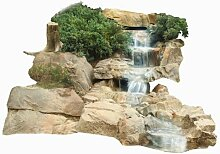 Bachlauf Wasserfall Gartenteich Bachlaufschalen