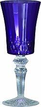 Baci BM 677511 So schickes Wein-Glas, Acryl, lila, 8,5 x 8,5 x 21,5 cm