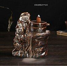 Back cone weihrauch schwere tan pagode keramik ofen weihrauch mountain wasser aroma-herd-R