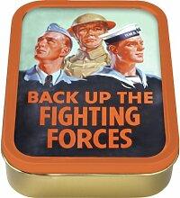 Back Up The Fighting Kräfte Sammler/Tabakdose