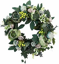 Backbayia Dekorative Girlanden, Blumenstrauß,