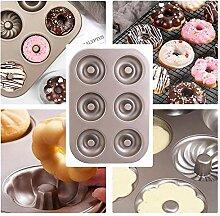 Backblech Donut-Backform Doppelseitig