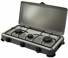 Backblech, mobiler Gasgrill 3-flammig 4100W