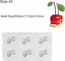 Backen Pfannen Nonstick Kuchen, Mold 3D Silikon