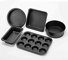 Backen-Werkzeuge Backform Backen Tool Kit West Point Pizzaofen mit Backkuchen Backform Package Set Backutensilien Kuchenform Backen Set ( größe : 35.6CM-24.3CM )