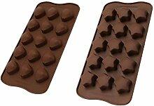 Backform, Fünf-Stern-Kuchen Backblech Schokolade