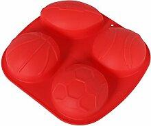 Backform Silikon, Ball-Design Auflauf Kuchenform