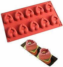 Backformen 10 sogar lieben Mousse Kuchen
