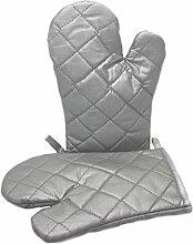 Backhandschuh Grillhandschuh Topfhandschuh 24 cm - 1 Paar