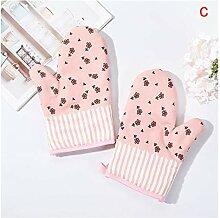 Backhandschuhe 1 Pc Baumwolle Mode Küche Pad