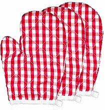 Backhandschuhe 2pcs Kinderwärmeisolierung gegen