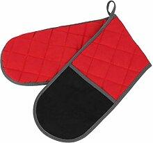 Backhandschuhe Doppel-kopf Mikrowelle Handschuh