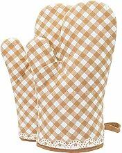 Backhandschuhe Mikrowelle Handschuh Topflappen