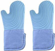 Backhandschuhe Mikrowelle Silikon Handschuhe Dicke