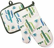 Backhandschuhe Nette Baumwolle Mode Kaktus