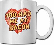 Bacon-Lover 330ml Becher Keramik Kaffeetasse