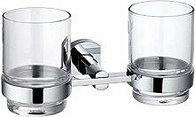 Bad-Accessoires/Becher/Dual-Becherhalter/Pinsel Tasse
