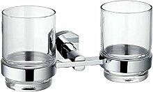 Bad-Accessoires/Becher/Marine-Dual-Becherhalter/Pinsel Tasse