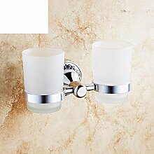 Bad-Accessoires/Continental Zahnbürstenhalter/Becherhalter/Dual-Topfbürste Tasse