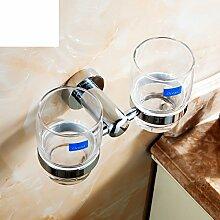 Bad-Accessoires/Glass Tumbler/Alle Kupfer Zahnbürste Becherhalter