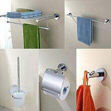 Bad-Accessoires/Handtuchhalter/Badezimmer Zubehör-Set aus rostfreiem Stahl/Racks