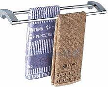 Bad-accessoires Handtuchhalter zeitgenössische Chrom Kupfer Europäischen antike Handtuchhalter Abmessung: 585 x 120 mm