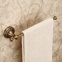 Bad-accessoires Handtuchhalter zeitgenössische Chrom Kupfer Europäischen antike Handtuchhalter Abmessung: 320 x 80 mm