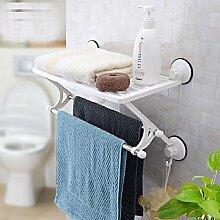 Bad-accessoires Handtuchhalter zeitgenössische Chrom Kupfer Europäischen antike Handtuchhalter Dimension: 47 * 24 * 34 CM