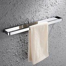 Bad-accessoires Handtuchhalter zeitgenössische Chrom Kupfer Europäischen antike Handtuchhalter Dimension: 60 * 7,6 cm