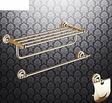 Bad-Accessoires/Kupfer Antik/Gold-plated Handtuchhalter/European Style Handtuchhalter/Bad-Hardware-Zubehör-set-M