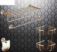Bad-Accessoires/Kupfer Antik/Gold-plated Handtuchhalter/European Style Handtuchhalter/Bad-Hardware-Zubehör-set-I