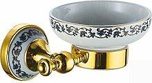 Bad-Accessoires Retro Luxus Kupfer plus Keramik
