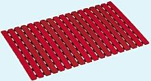 Bad, Anti-Rutsch-Matte Red TPE + PP Material