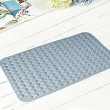 Bad Antirutschmatten/Badezimmer Matte/Duschbad Mat/ Sanitär-Kunststoff-Matte-weiß 36x70cm(14x28inch)