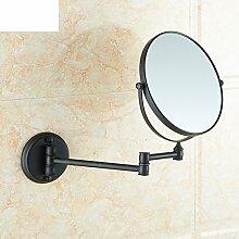Bad Beauty Spiegel/Alle Kupfer versenkbare Wand-Klappspiegel/Bad-Accessoires