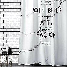 Bad Duschvorhang, Wasserdichtes Polyestergewebe,