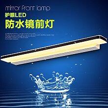 Bad führte Spiegel Lampe einfache Bad Spiegel Schrank Lampe kreative energiesparende wasserdichte elektrische Lampen, 1,15-Meter Watt Weiß (Bai-Box)