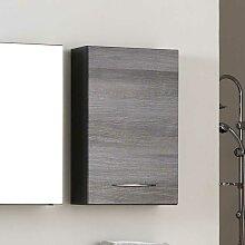 Bad Hängeschrank in Eiche Grau modern