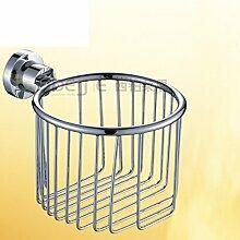 Bad Handtuchhalter/Bad-Accessoires/Racks/Round Kupfer Korb/Toilettenpapierhalter