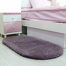 Bad-Home wasserabsorbierenden Matte vor der Tür/Schlafzimmer Küche Fußmatten/ Bad Bad rutschfeste Fußauflage-C 60x200cm(24x79inch)