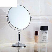 Bad Kosmetikspiegel/Doppelwand/Faltbare Toilette Teleskop Spiegel/Kosmetikspiegel/der Spiegel-B