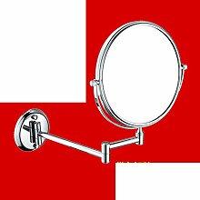 Bad Kosmetikspiegel/Faltung Wandspiegel/SpiegelSkala Badezimmerspiegel/Bad doppelseitige Kosmetikspiegel/Schönheit im Spiegel-O
