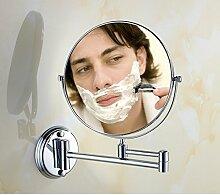 Bad Kosmetikspiegel/Kupfer Bad klappbar