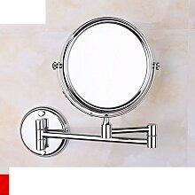 Bad Kupfer Bad Kosmetikspiegel/Lupe/Badezimmerspiegel/Faltung Kosmetikspiegel/Zoom-Objektiv-B